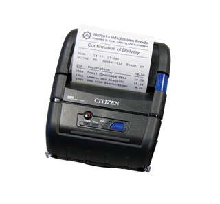 Citizen Portable Printers CMP-20BTU
