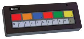 Bematech Keyboards KB1700G-BK-RJ-RJ