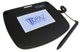 Topaz Signature Pads T-LBK43LC-BSB-R